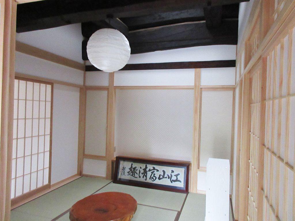 古民家Y邸 施工後の室内